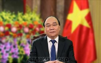 Chủ tịch nước Nguyễn Xuân Phúc tham dự phiên Thảo luận mở Cấp cao về Hợp tác giữa Liên hợp quốc và Liên minh châu Phi