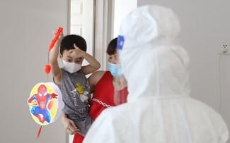 Mid-autumn Festival celebrated in COVID-19 field hospitals