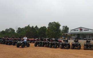 Explorar los senderos de Dong Mo con vehículos todoterreno