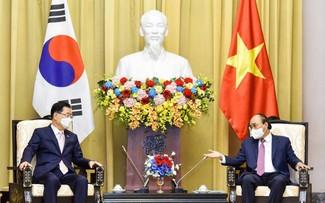 Corea del Sur desea fortalecer cooperación con Vietnam en diversos ámbitos