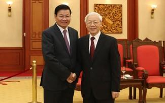Máximo líder de Laos visitará a Vietnam