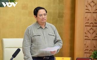 El alivio de las medidas de restricción debe realizarse cautelosamente, asegura el jefe del Gobierno