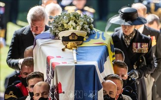 Britain bids farewell to Prince Philip at intimate funeral
