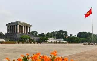 Ba Dinh square – where President Ho Chi Minh proclaimed independence of Vietnam