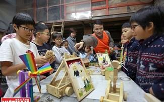 儿童创新木工班