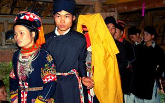 越南广宁高兰族的独特婚俗