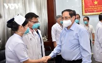 Premierminister Pham Minh Chinh schickt Brief an Kräfte bei COVID-19-Bekämpfung