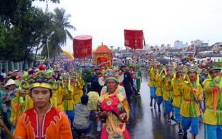 "Erhaltung des Festivals ""Cau Ngu"" in Phan Thiet"