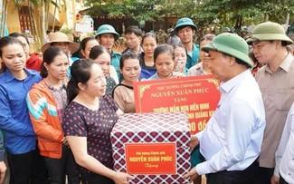 Esfuerzos del Gobierno vietnamita en la prevención y superación de los desastres naturales
