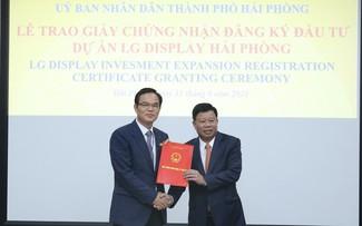 Hai Phong se esfuerza por mejorar el entorno de inversión