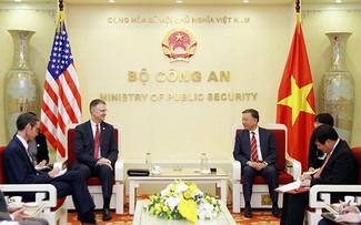 Tô Lâm reçoit l'ambassadeur américain sortant Daniel Kritenbrink