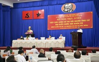 Législatives: Nguyên Xuân Phuc fait campagne à Cu Chi