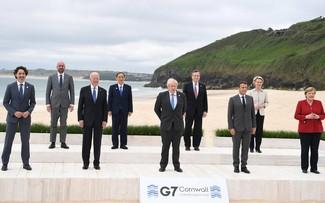 Le G7 d'accord sur un vaste plan d'infrastructures