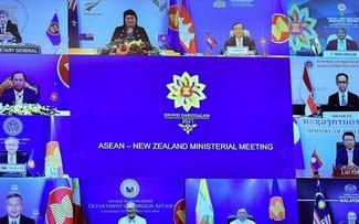 Conférence des ministres des Affaires étrangères ASEAN -Nouvelle-Zélande