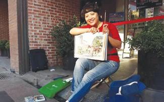 """Trân Thi Thanh Thuy, co-fondatrice du groupe """"Esquisses urbaines de Hanoï»"""