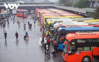 Le transport interrégional de passagers rétabli dans 48 localités