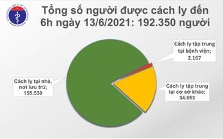 12 giờ qua, Việt Nam có thêm 95 ca mắc COVID-19 trong nước