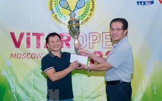 Giải quần vợt ViTAR Mở rộng Hè 2021 của người Việt tại Nga