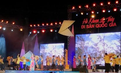 """Quang Binh province preserves """"Ho khoan"""" Le Thuy"""