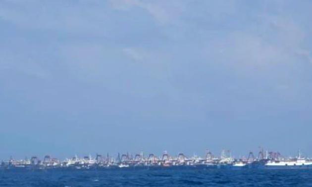 Koran Australia Beritakan Pengiriman Kapal yang Dilakukan Tiongkok ke Karang Ba Dau (Whitsun) di Pulau Sinh Ton (Sin Cowe)