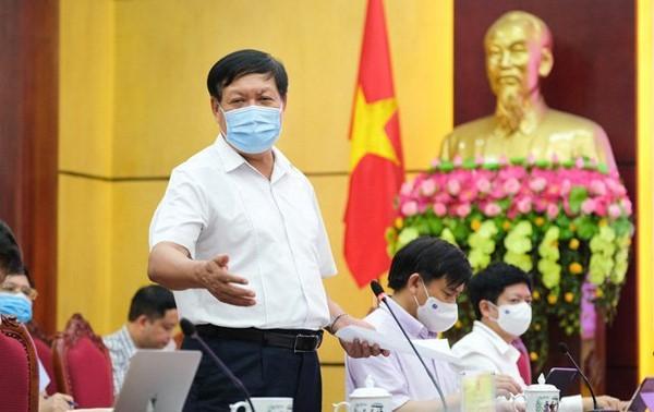 Kementerian Kesehatan Vietnam Bentuk Badan Harian Khusus urusan Pencegahan Wabah Covid-19 di Provinsi Bac Ninh
