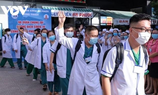 Seruan Sekjen Nguyen Phu Trong Bangkitkan Tekad dan Sinergi untuk Tanggulangi Pandemi