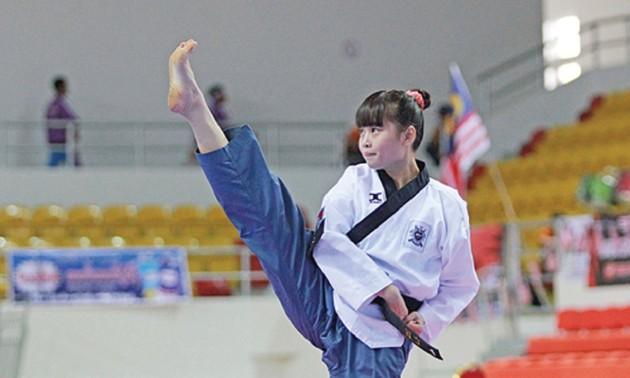 Mahasiswi Kamboja dan Kecintaannya terhadap Taekwondo
