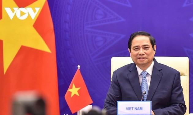 PM Pham Minh Chinh Tegaskan Komitmen Vietnam dalam Terus Berikan Sumbangsih yang Efektif untuk Laksanakan Target dan Visi Bersama GMS