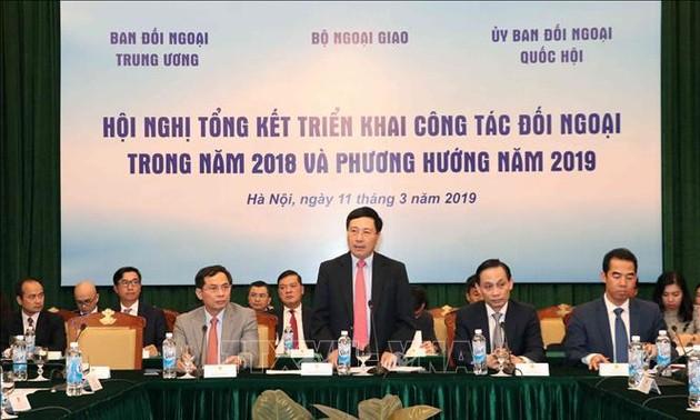 Vietnam pone en marcha la política exterior de 2019
