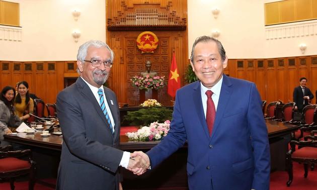 Vietnam da prioridad a las relaciones con la ONU en su política exterior