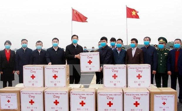 Provincia septentrional de Vietnam apoya a región china de Guangxi en enfrentamiento al Covid-19