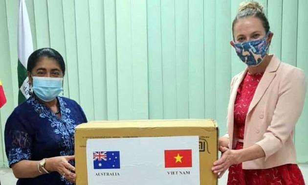 Suministros médicos de Vietnam llegan a Timor Leste