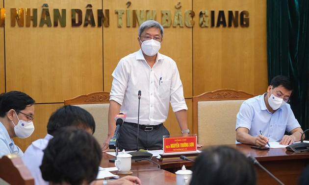 Siguen medidas drásticas contra el covid-19 en las áreas más afectadas en Vietnam
