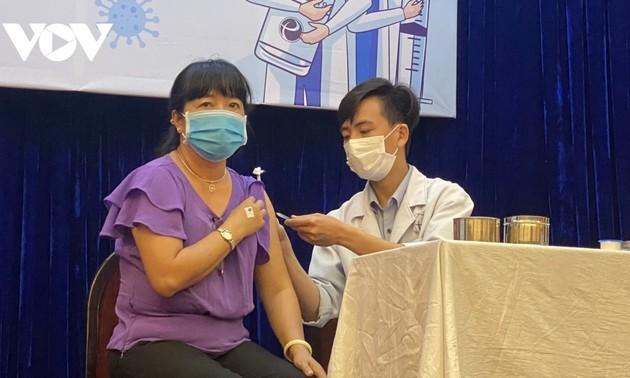 Asignadas 800 mil dosis de vacunas anticovid-19 para Ciudad Ho Chi Minh