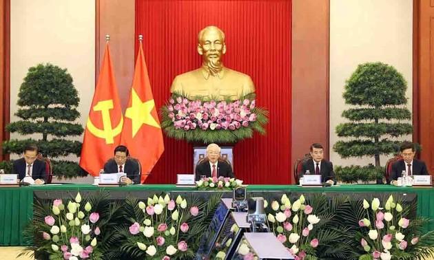 La felicidad de la gente es el objetivo de lucha de la Revolución vietnamita