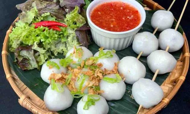 """""""Banh Hon"""", manjar de la provincia de Vinh Phuc"""