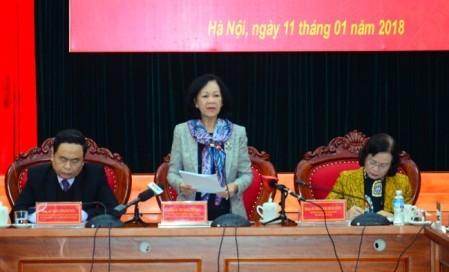 Vietnam por mejorar eficiencia de la implementación de la regulación democrática a nivel de bases