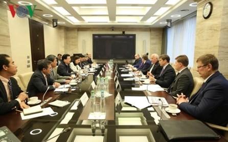 Viceprimer ministro de Vietnam se reúne con líderes de corporaciones rusas