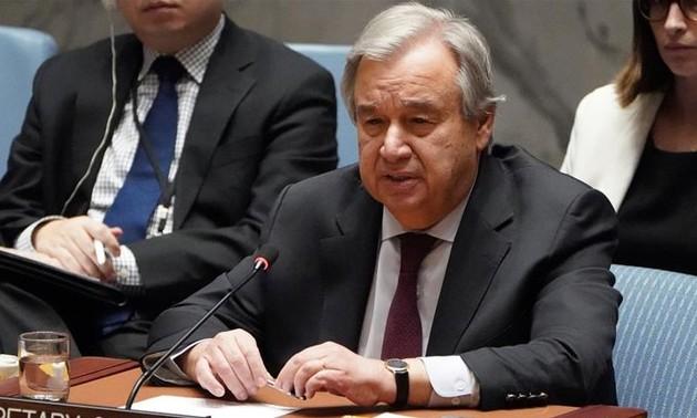 Jefe de la ONU insta a Israel a abolir su plan de anexar zonas ocupadas de Cisjordania