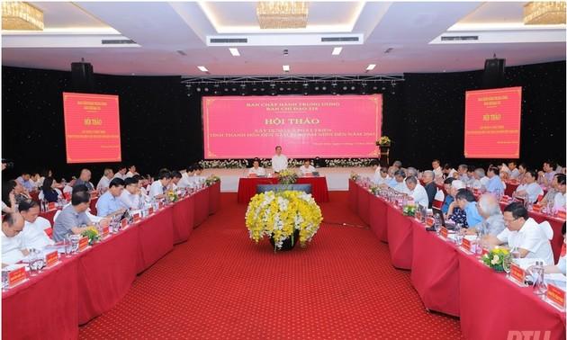 Abordan el futuro desarrollo de Thanh Hoa