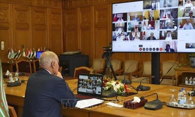 Liga Árabe desaprueba el proyecto de resolución que condena el acuerdo entre Israel y los Emiratos Árabes Unidos