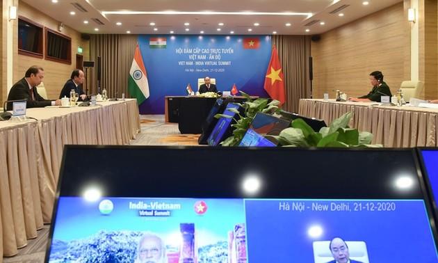 Vietnam y la India fortalecen sus lazos