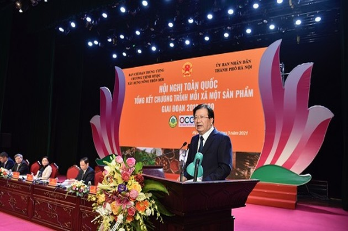 Promueven la marca nacional OCOP como base para acceder a los mercados internacionales