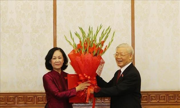 Nombran a nuevas figuras importantes del Partido Comunista de Vietnam