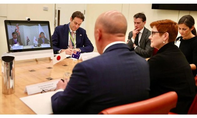 Australia y Japón profundamente preocupados por la situación en el Mar del Este