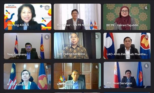 Vietnam preside reunión de Junta Directiva de la Fundación de la Asean