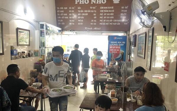 Hanói reduce nivel de distanciamiento social
