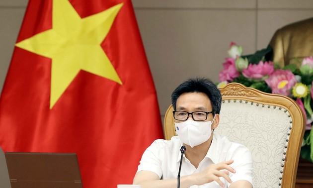 Vicepremier vietnamita insta a las localidades a realizar más pruebas de covid-19