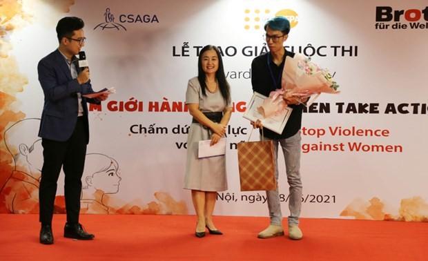 Se anuncian los ganadores del concurso para poner fin a la violencia contra las mujeres