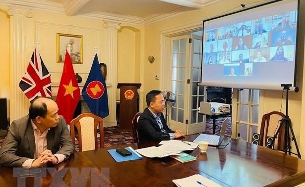 Destacan excelente desarrollo de nexos Vietnam-Reino Unido